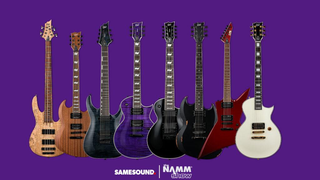 Новые гитары ESP LTD, новые бас гитары ESP LTD