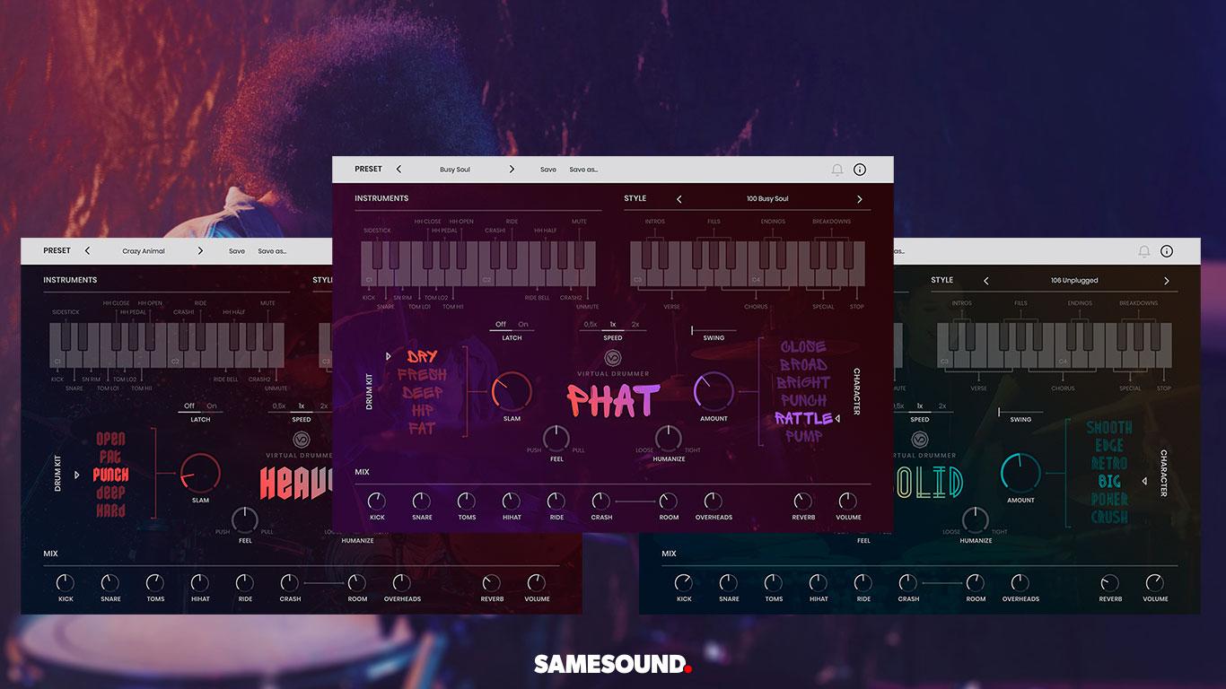 UJAM анонсировала серию виртуальных ударных Virtual Drummer