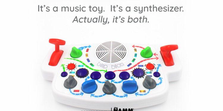 Blipblox, детский синтезатор Blipblox