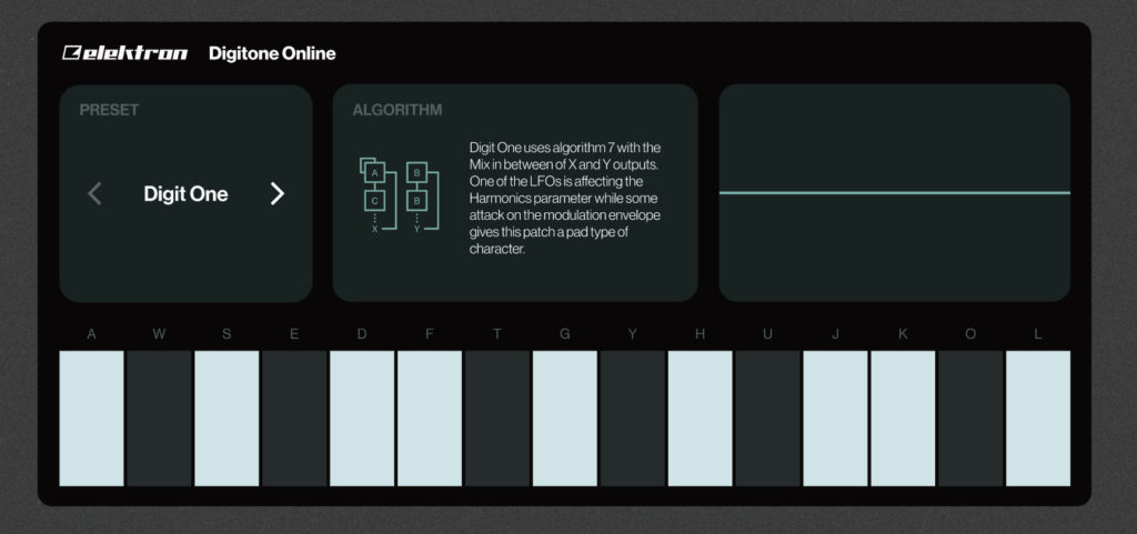 FM-синтезатор Elektron Digitone