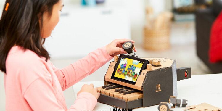 Картонное пианино Nintendo Toy-Con, Nintendo Labo, Korg Gadget