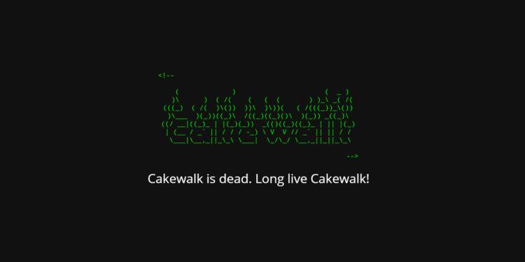 Bandlab купила Cakewalk, Cakewalk спасен