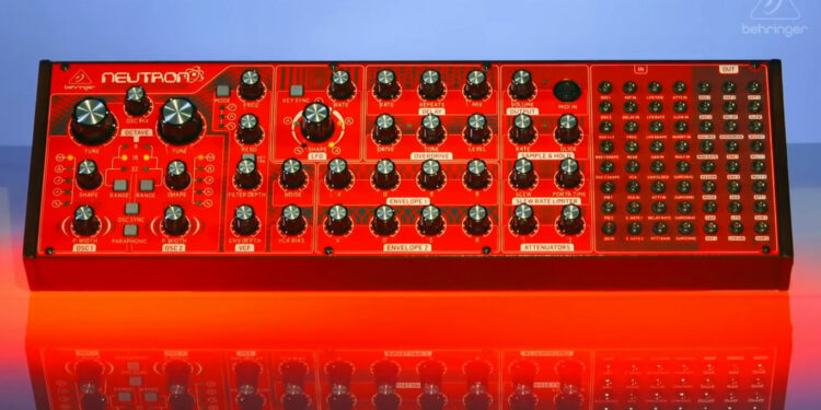 Синтезатор Behringer Neutron, синтезаторы Behringer
