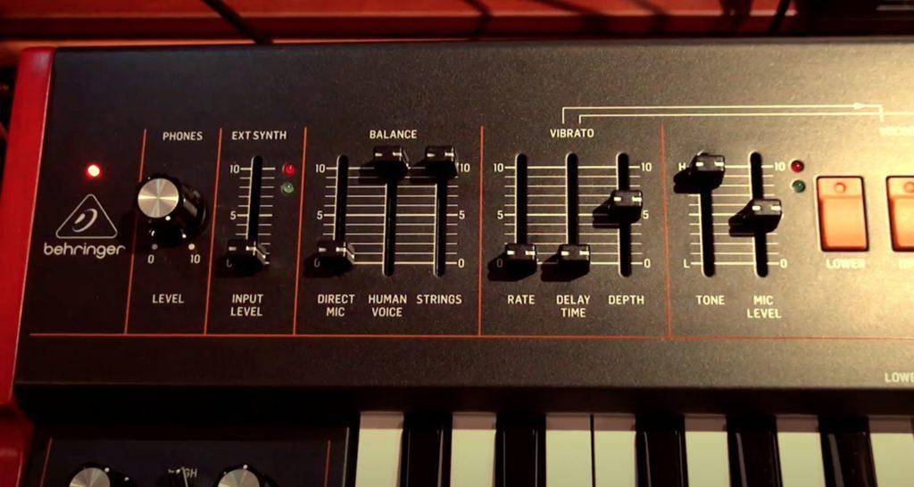 Синтезатор Behringer VC340