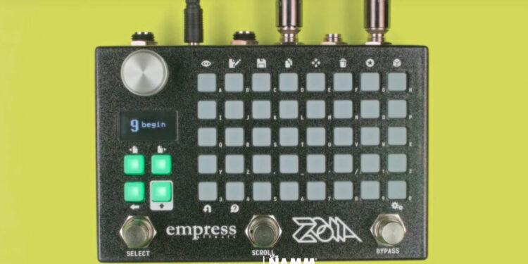 Педаль мультиэффектов Empress Effects Zoia
