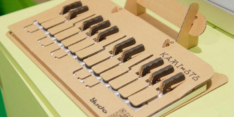 DIY картонный MIDI-контроллер KAMI-OTO