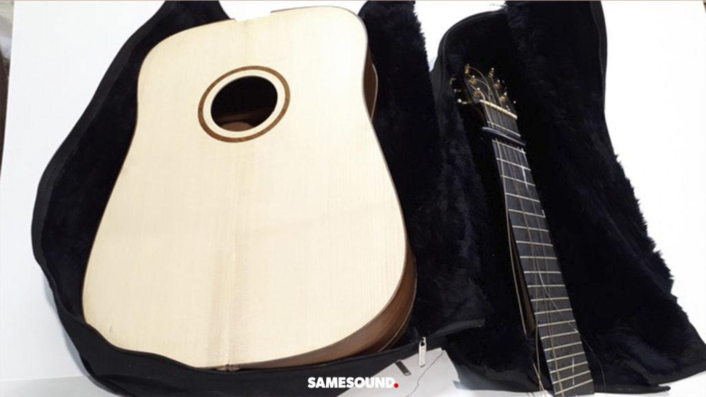 гитара для путешествий Notekase