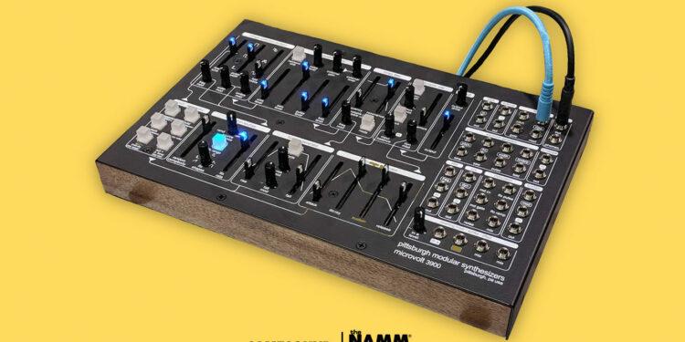 Синтезатор Pittsburgh Modular Microvolt 3900