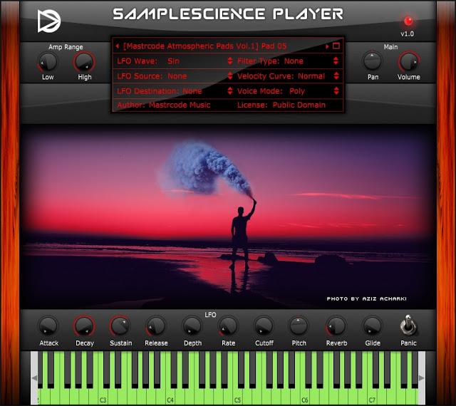 Бесплатный ромплер SampleScience Player