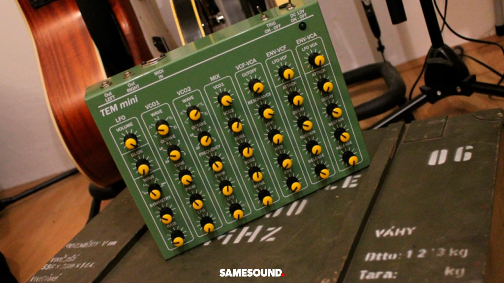 Синтезатор TEM mini