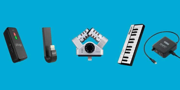 ios-аксессуары для музыкантов, музыкальные аксессуары для iphone