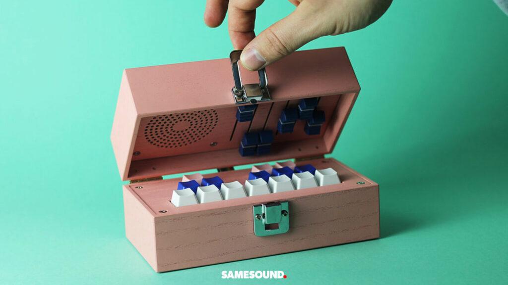 Bivalvia Synthesis DIY-синтезатор в виде музыкальной шкатулки