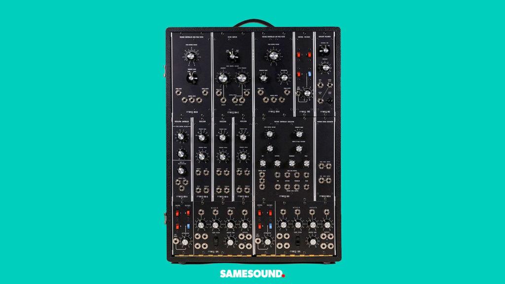 Переиздание Moog Synthesizer IIIp