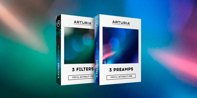 Набор плагинов Arturia 3 Filters You'll Actually Use, 3 Preamps You'll Actually Use