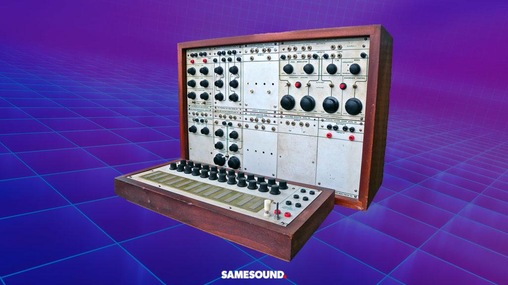 Легендарные модульные синтезаторы, Buchla 100