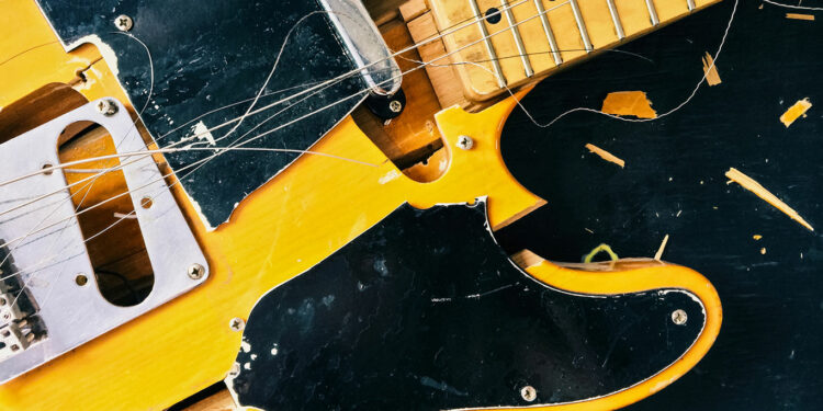 как умирает гитарный рынок, смерть электрогитары, проблемы гитарного рынка