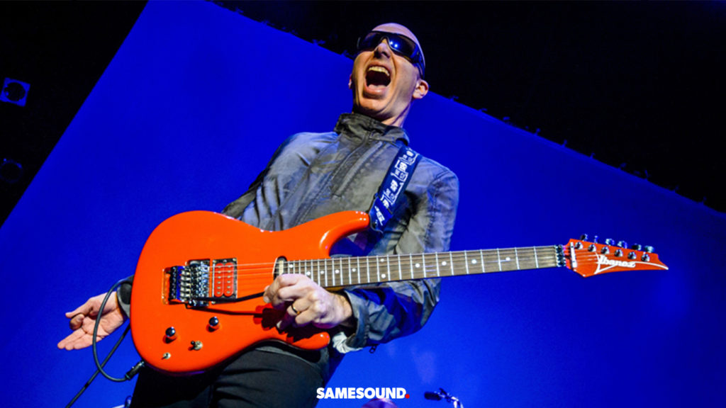 гитарное оборудование Джо Сатриани