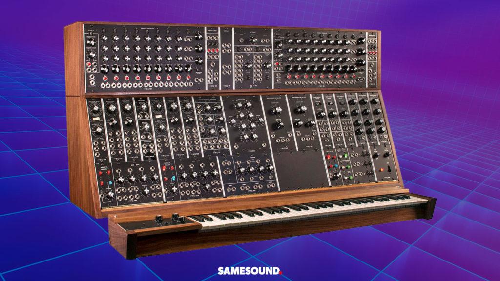 Легендарные модульные синтезаторы, Moog Modular