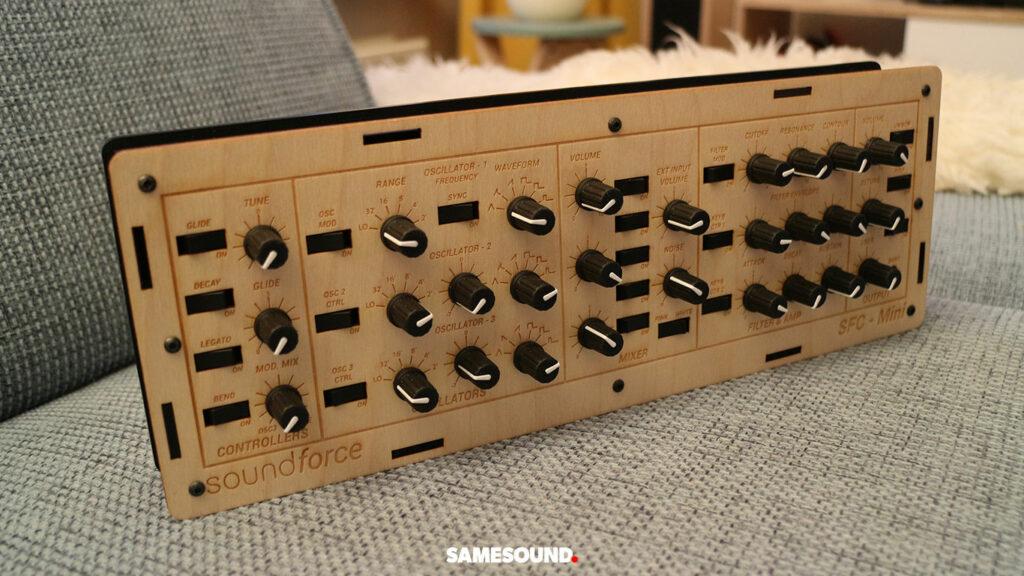 DIY MIDI-контроллер SoundForce SFC-Mini V2