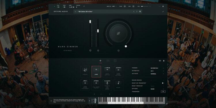 VST-плагин Spitfire Audio Hans Zimmer Strings