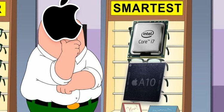 Apple откажется от процессоров Intel