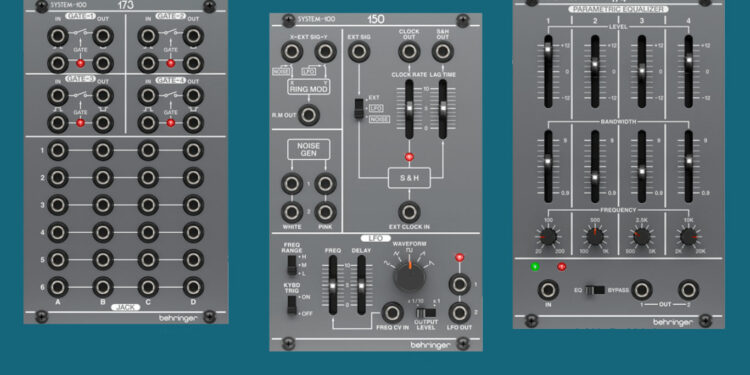 Eurorack-модули Behringer M100 Eurorack