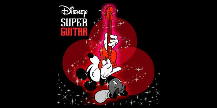 Disney Super Guitar, диснеевская музыка в рок обработке, диснеевские песни в рок обработке