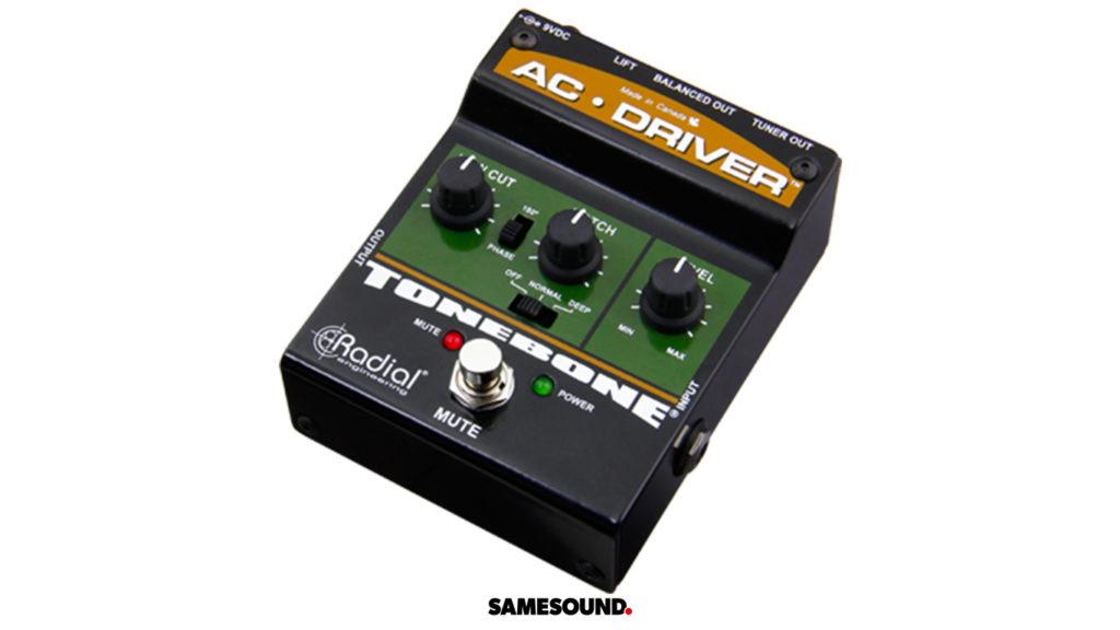 Radial Tonebone AC-Driver, новинки гитарного оборудования
