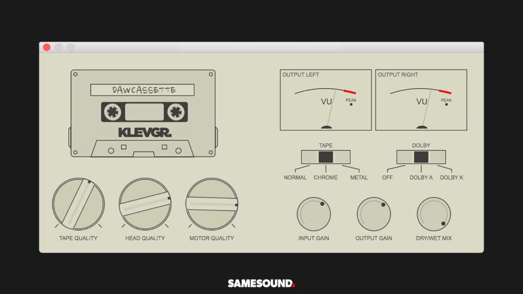 Klevgrand DAW Cassette плагин