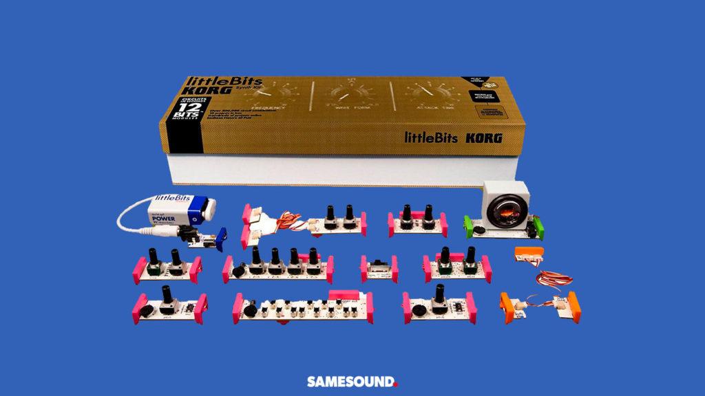 Korg littleBits Synth Kit, лучшие синтезаторы для начинающих