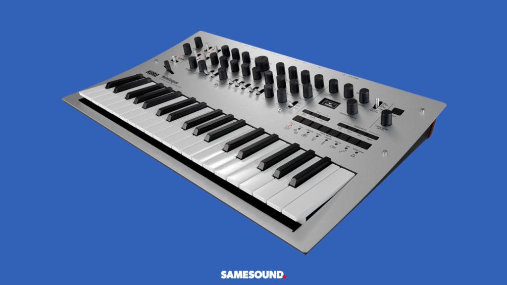 Korg Minilogue, лучшие синтезаторы для начинающих