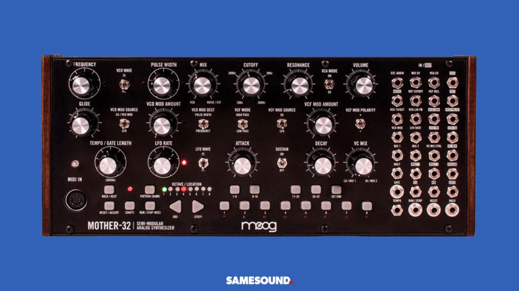 Moog Mother-32, лучшие синтезаторы для начинающих