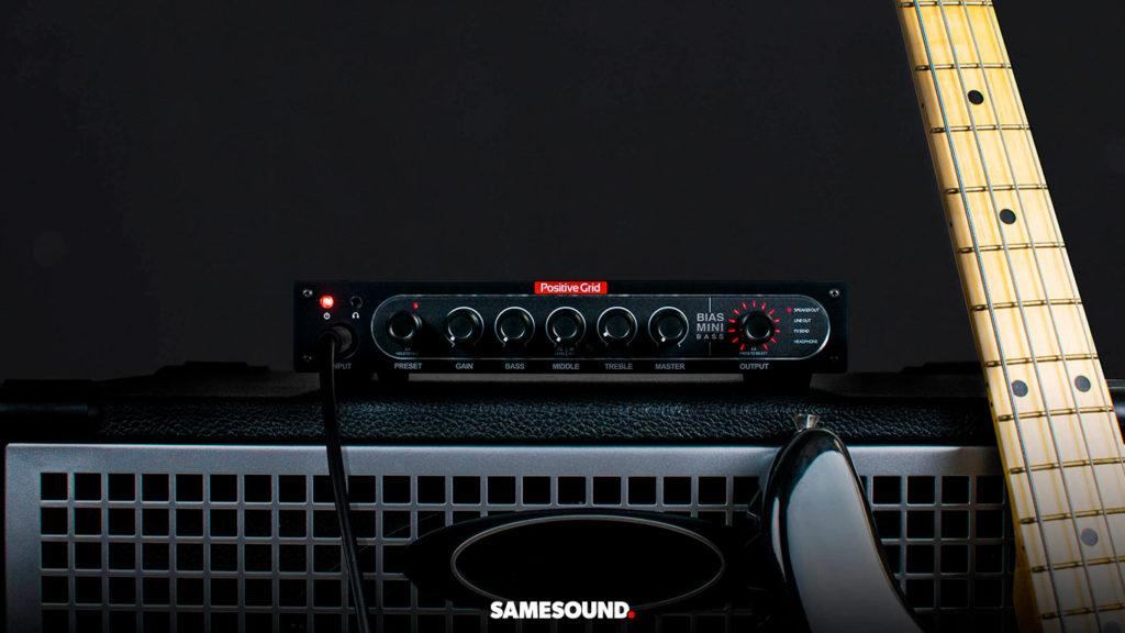 Басовый усилитель Positive Grid BIAS MINI Bass