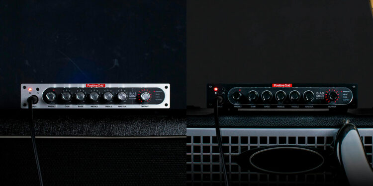 Компактные усилители Positive Grid BIAS MINI Guitar и Positive Grid BIAS MINI Bass