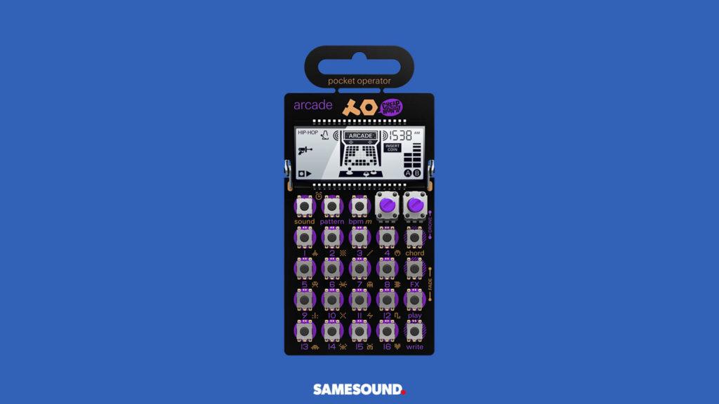 Teenage Engineering PO-20 Arcade, лучшие синтезаторы для начинающих