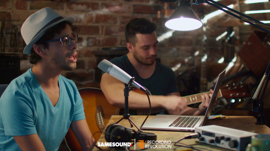 Как записать песню, запись музыки