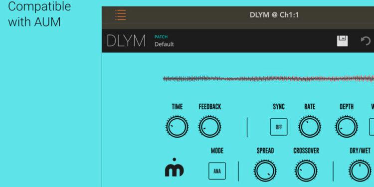 VST-плагин DLYM Delay Modulator