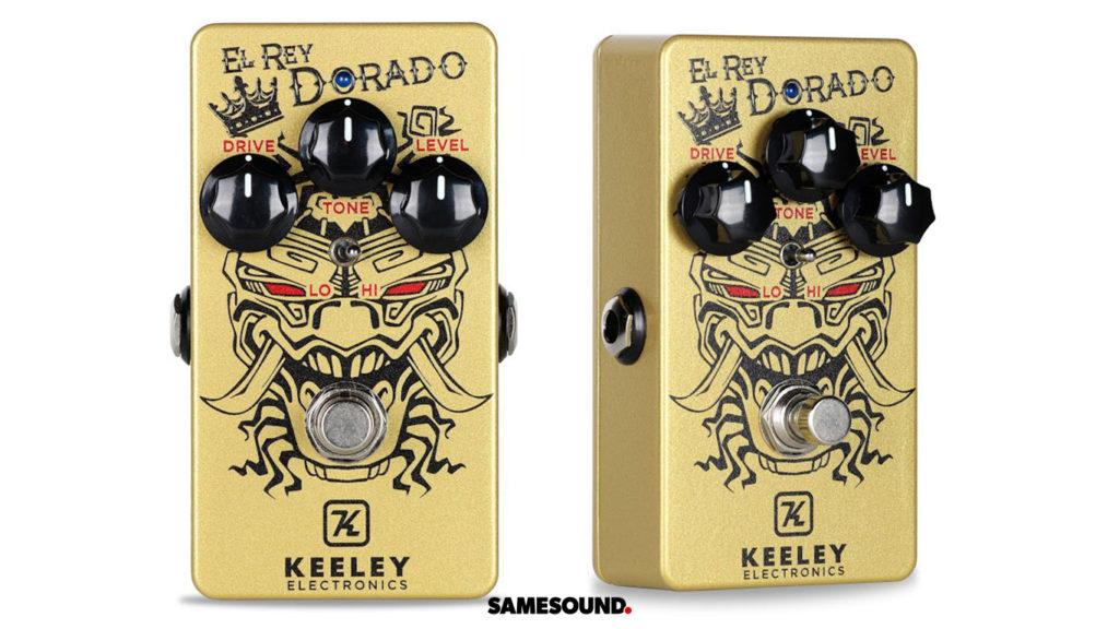 новинки гитарного оборудования Keeley El Rey Dorado