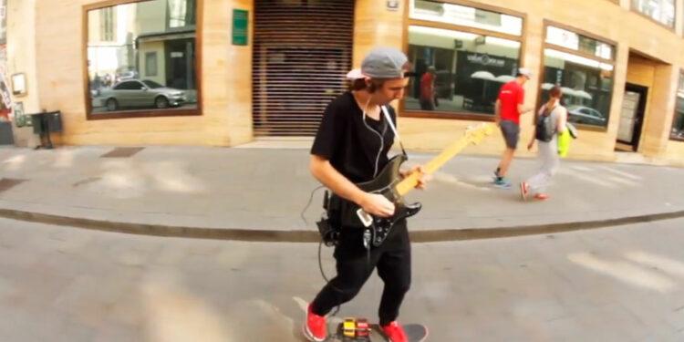 Гитарный скейтбординг