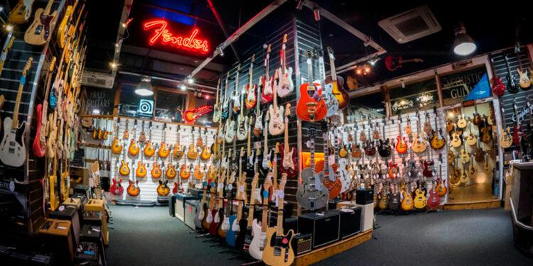 гитарный рынок вырос