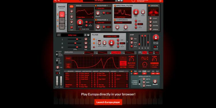 Синтезатор Europa by Reason VST AU