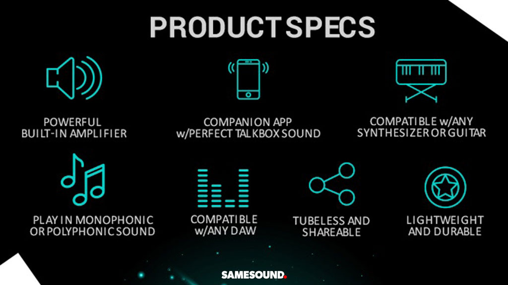 вокодер будущего ElectroSpit Mobile Talkbox