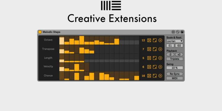 бесплатные плагины Ableton Creative Extensions