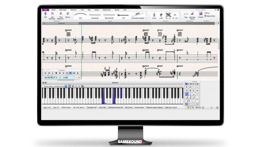 Бесплатный Sibelius First, бесплатный нотный редактор