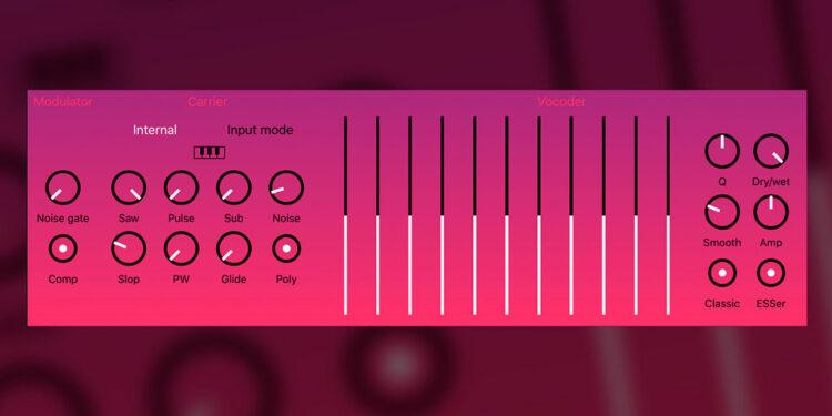 Вокодер для iOS BeepStreet DerVoco