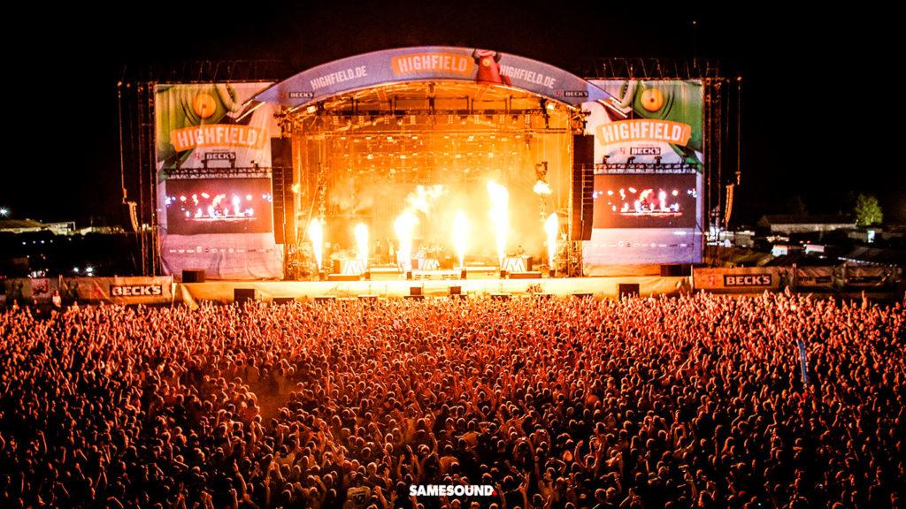Highfield, музыкальные фестивали Германии