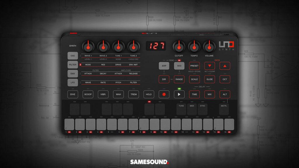 Синтезатор IK Multimedia UNO