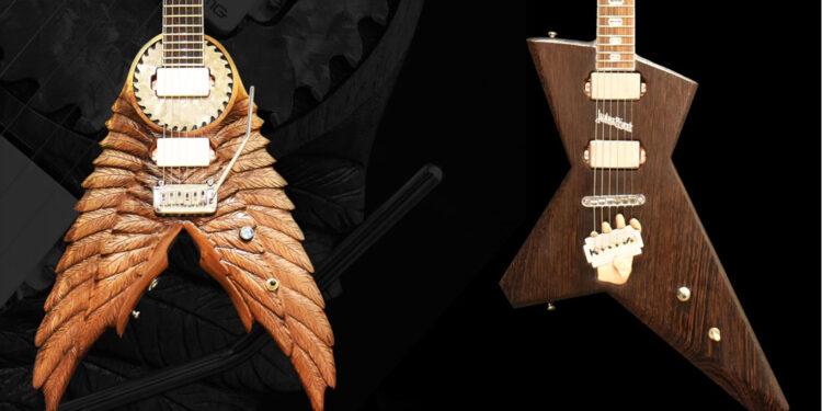 электрогитары в стилистике Judas Priest