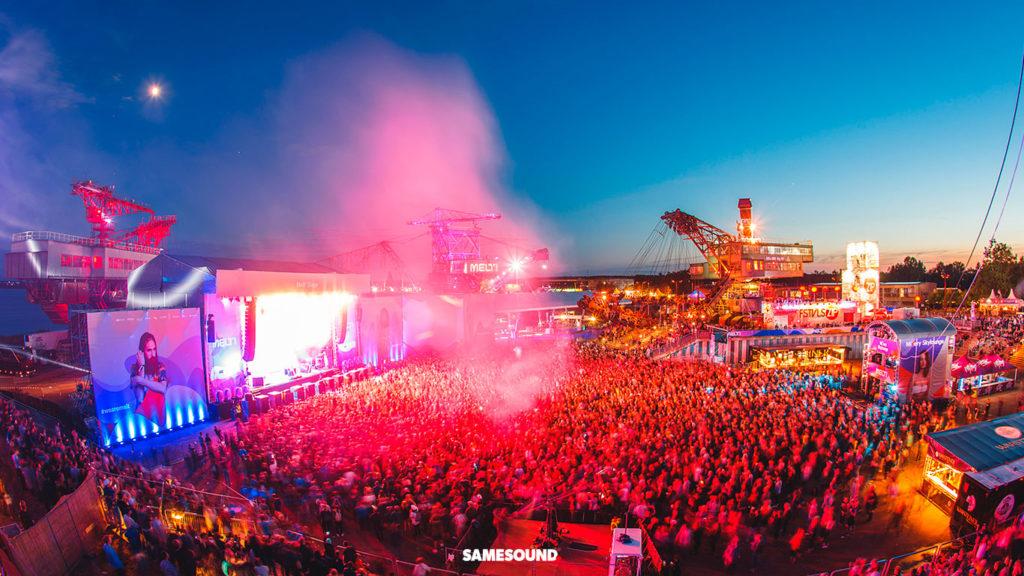 Melt!, музыкальные фестивали Германии