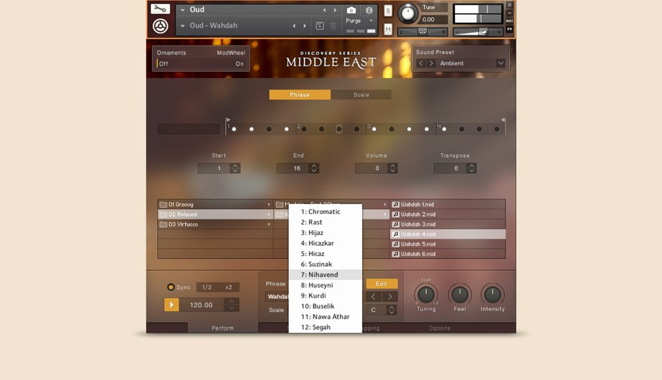 VST-инструменты востока, Native Instruments Middle East, Native Instruments Discovery Series Middle East